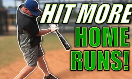 How To Hit More Home Runs!  Home Run Hitting Tips To Increase Power!