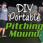 DIY Portable Pitcher's Mound (Homemade Pitching Mound)