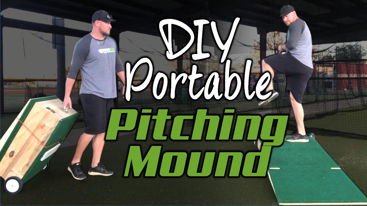 Homemade Portable Pitching Mound Diy You Go Pro Baseball