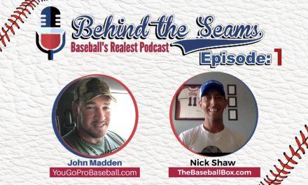 Nick Shaw of The Baseball Box – Behind The Seams Ep.1