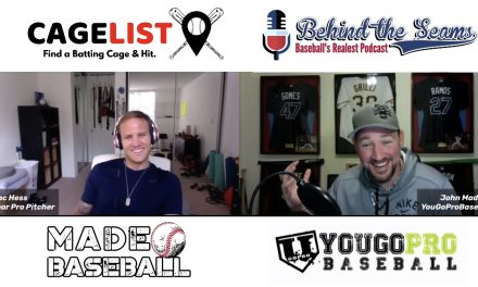 Isaac Hess (7 Year Pro Pitcher & Founder of CageList) – Behind The Seams Baseball Podcast Ep.7