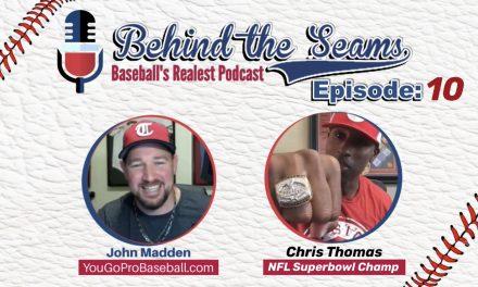 Chris Thomas of Fusion Odyssey (NFL Super Bowl Champion) – Behind The Seams Baseball Podcast Ep.10
